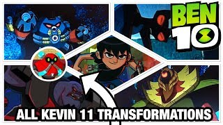 Ben 10 Reboot Season 3 Every Kevin 11 Transformation + Analysis
