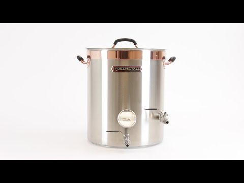 Edelmetall™ Brü Kettle Beer Brewing with Whirlpool Action Port