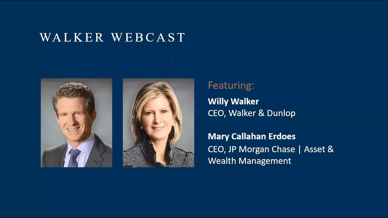 The Global Banker's Perspective with Mary Erdoes,  CEO of JP Morgan Chase Asset & Wealth Management