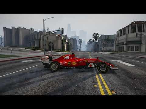 Gta 5 Ferrari SF70H F1 car 2017  [Alpha] Mod