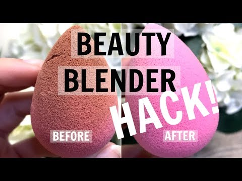 Clean Your Beauty Blender FAST!
