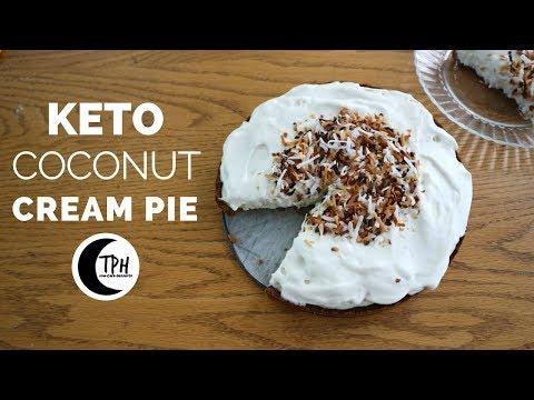 Keto Coconut Cream Pie | Low-Carb Coconut Cream Pie Recipe