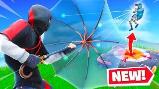 *NEW* Kingsman Umbrella & Crash Pad memes in Fortnite!