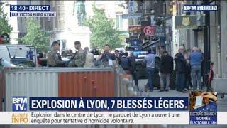 EN DIRECT. Explosion à Lyon, au moins 7 blessés