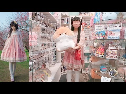 The Most Uncomfortable Fashion Style, not for Bigger Breasts + Harajuku/Anime Store Tour