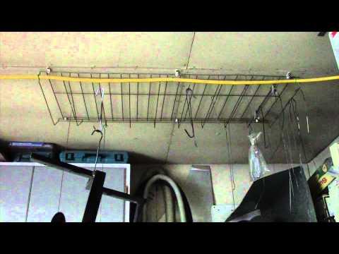 Workshop Paint Drying Rack