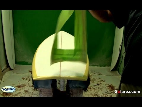 How to Fiberglass a Pigmented Surfboard Using Solarez UV Resin