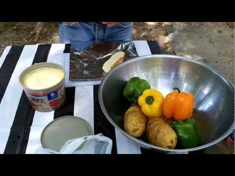 Xxx Mp4 Campfire Cooking Hot Dogs And Baked Taters Mp4 3gp Sex