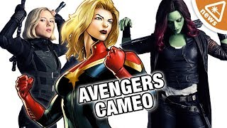 What a Captain Marvel Secret Avengers Cameo Means for the MCU! (Nerdist News w/ Jessica Chobot)