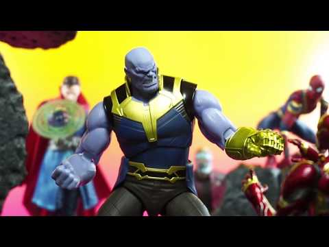 Bandai S.H. Figuarts Avengers Infinity War Movie THANOS Action Figure Review