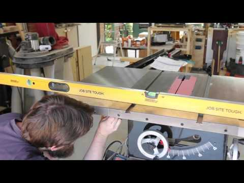 Table saw cast iron extension wing upgrade