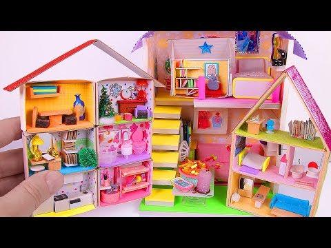4 DIY Miniature Dollhouses