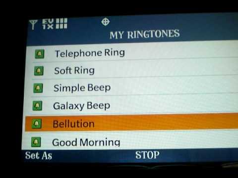 LG EnV Touch Ringtones