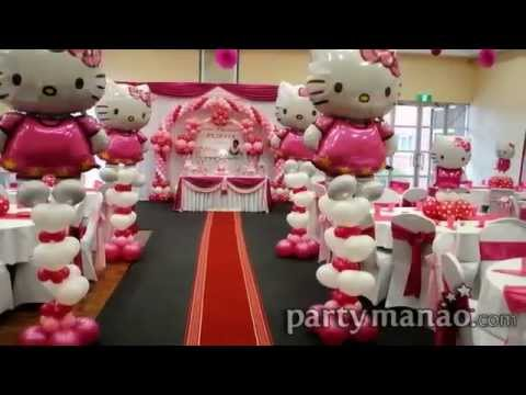 Hello Kitty Birthday Party Theme Ideas