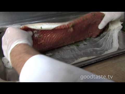 Zinc Caesar Salmon Salad