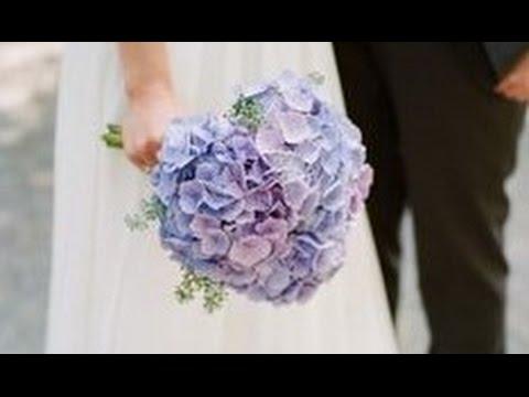 Hydrangea Wedding Bouquet DIY