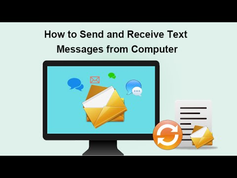 How to Send and Receive Text Messages from Computer