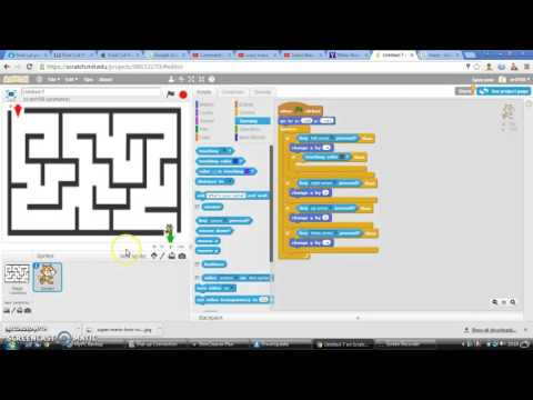 how to make a maze game on scratch [tutoriol]