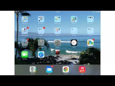 iPad - How To Change Your Text Size