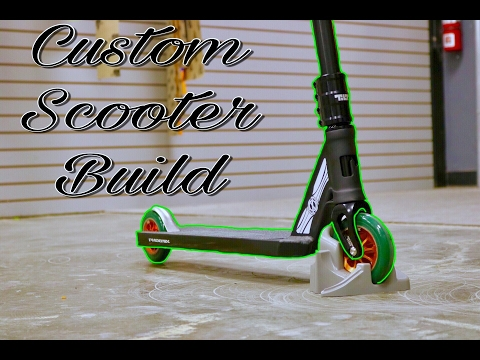 STREET CUSTOM SCOOTER BUILD. awesome for street riders*