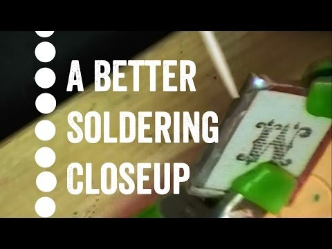 How to Solder Glass Jewelry Closeup