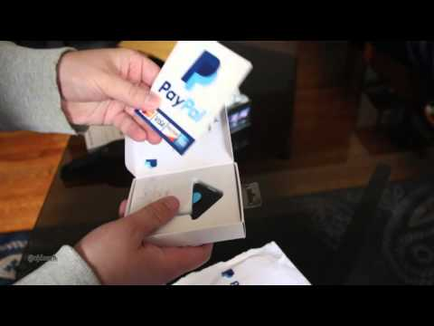 PayPal Credit Card Reader Unboxing