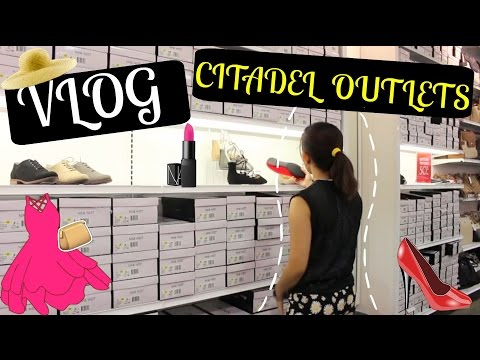 Vlog : Outdoor Shopping Center at Citadel Outlets