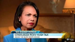 Condoleezza Rice Discusses Confronting Donald Rumsfeld Over Iraq War Policy