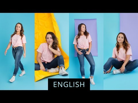 Using Paper Backdrops In Studio Photography With Elaine Torres