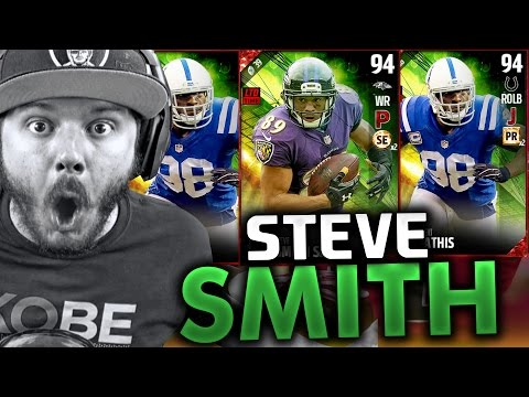 TRIBUTE STEVE SMITH PACK OPENING - MADDEN 17 ULTIMATE TEAM PACK OPENING