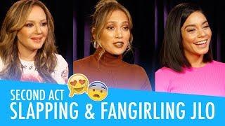 JLo, Vanessa Hudgens & Leah Remini - Second Act Interview
