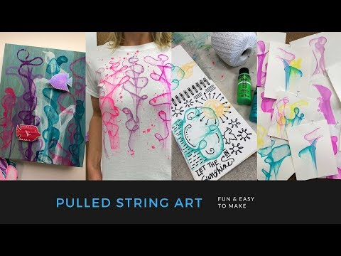Make your own Pulled String Art