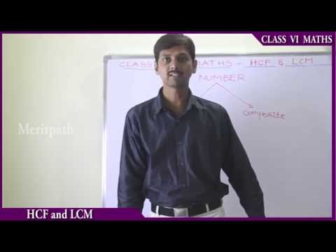 class VI 6 Maths HCF and LCM  Introduction to factors part 1
