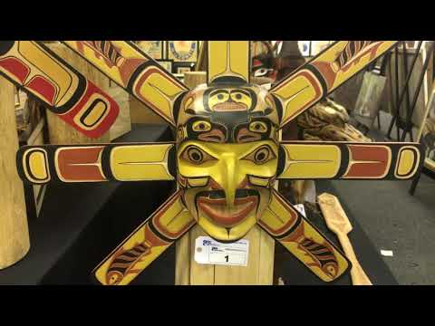 BC FIRST NATIONS ART & CARVINGS AUCTION