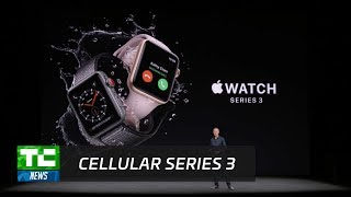 Apple Watch Series 3 has cellular built-in