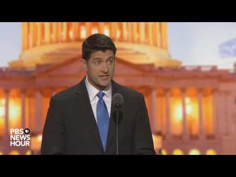 Paul Ryan: 'Democracy is a series of choices'