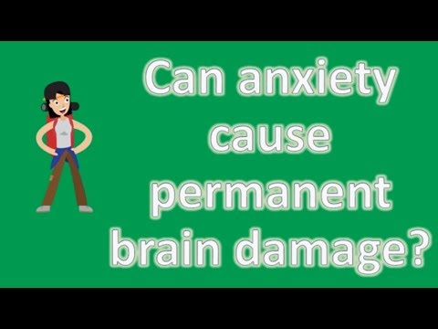 Can anxiety cause permanent brain damage ? |Health NEWS
