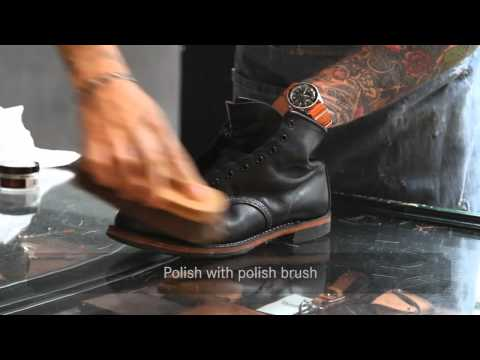 Red Wing Shoes Amsterdam — Shoe Care