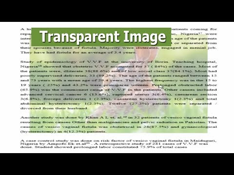 How to Make an Image Transparent in Microsoft Word Document Background 2017