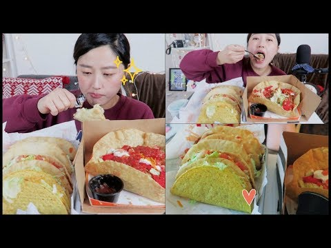 Chalupa Overload!! Taco Bell Mukbang (타코벨먹방ㅎㅎ) | KEEMI★