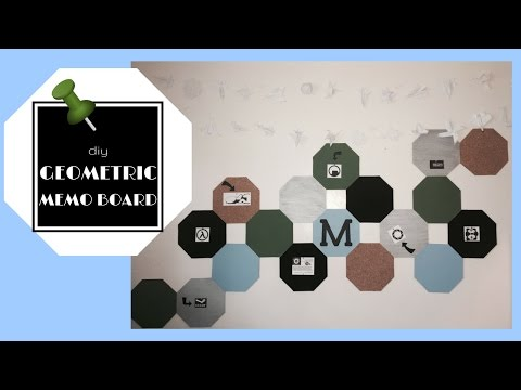 How to Make an Octagon (Geometric) Cork Boards