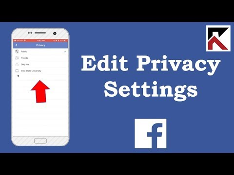 How To Edit Privacy Settings For Your Photo Album Facebook iPhone