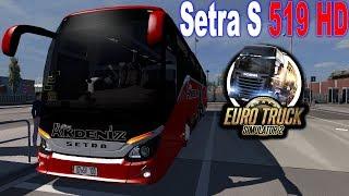 ETS2 1 34 | Bus Passenger Mod | Comil Campione HD MB | ( G29