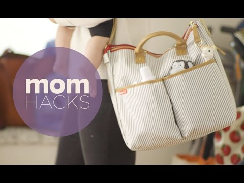 Mom Hacks: The Easiest Way to Pack a Diaper Bag