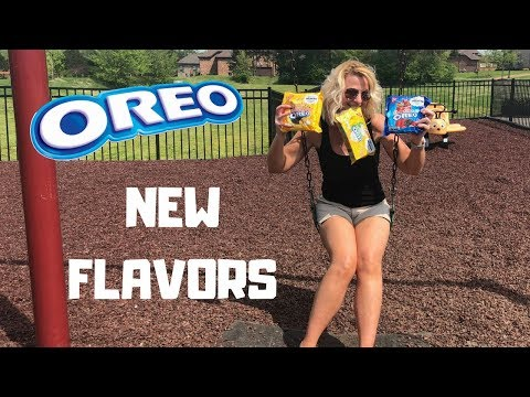 New Oreo Flavors - Cherry Cola - Kettle Corn - Piña Colada