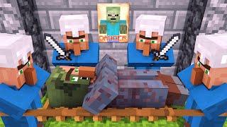 Villager & Witch Life 3 - Alien Being Minecraft Animation - PakVim