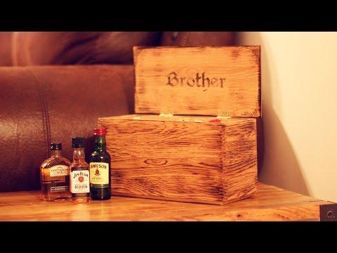 Beautiful Handmade Box from Pallet Wood
