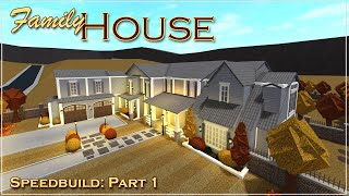 Roblox Welcome To Bloxburg Suburban Family Mansion Part 2