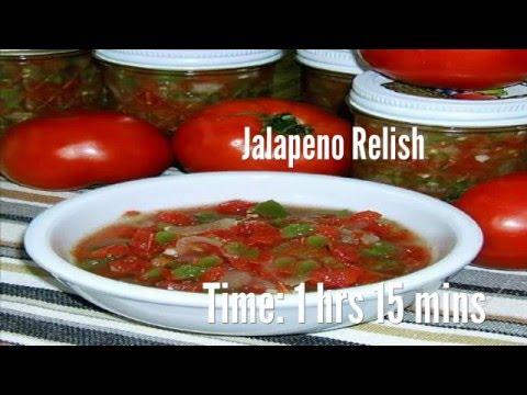 Jalapeno Relish Recipe