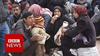 Aleppo may become giant graveyard - BBC News